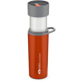 GSI Glacier Stainless Commuter Zestaw do parzenia kawy Javapress, orange